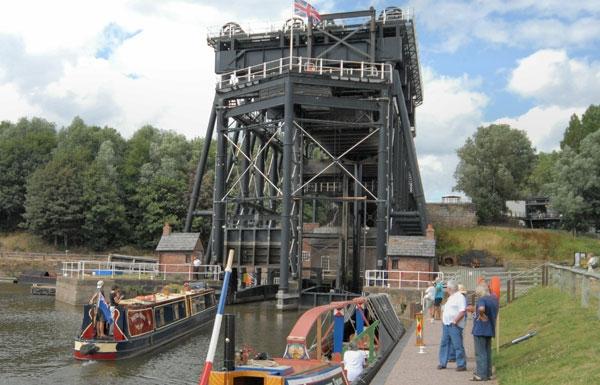Anderton Lift (c) Waterway Images