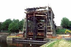 17 Anderton Lift Dismantling