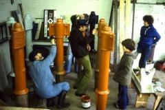 3 Repainting Mileposts Fradley BW Yard 19-2-1978