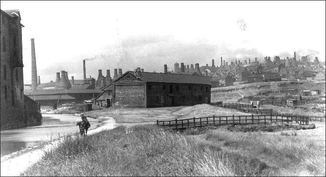9 Mersey Weaver Yard on Burslem Arm