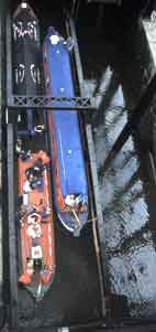 Anderton Lift from above (c) Waterway Images